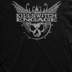 Layout da camiseta da banda Killswitch Engage